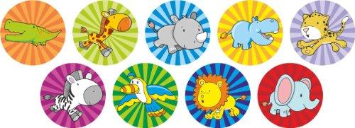 Mini-Safari-Aufkleber (234 Sticker) (Super Lustige Safari)