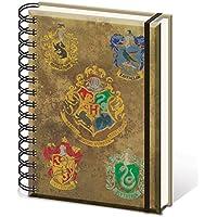 HARRY POTTER sr72083Hogwarts de los Escudos–Cuaderno tamaño A5Notebook
