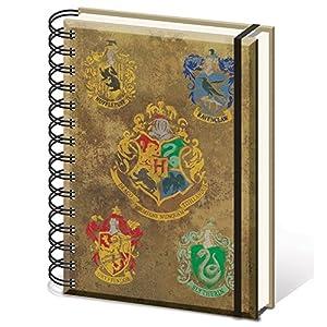 HARRY POTTER sr72083Hogwarts de los Escudos-Cuaderno tamaño A5Notebook