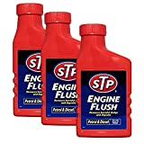3 x STP Engine Flush 450ml - For Petrol And Diesel Engines