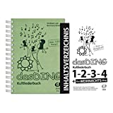 Dux Verlag Das Ding + Original Inhaltsverzeichnis | Kultliederbuch | Songbook