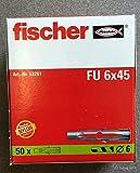 Fischer FU6X45  Universaldübel