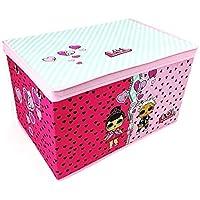 L.O.L. Surprise! Jumbo Foldable Storage Box Chest Kids Room Toy Tidy