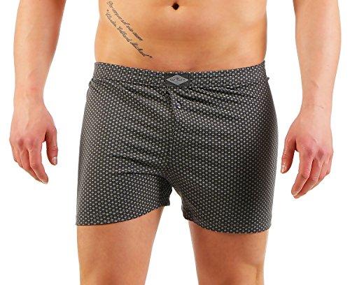 3er Boxershorts Herren Unterwäsche Unterhosen Trunks Nr. 451 (Farben können variieren) ( Mehrfarbig / 13 (XXXXXL) ) - 2