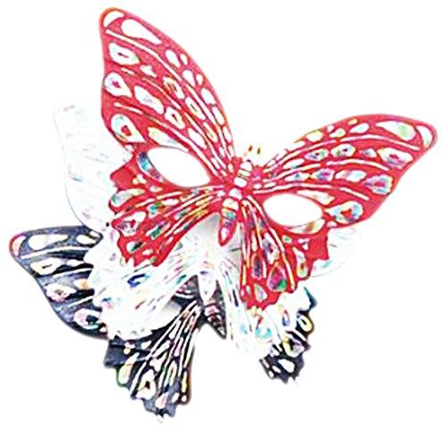 Halloweenia - Erwachsenen Schmetterling Karneval Faschingsmaske Venezianische Maske, (Kostüme Twilight Schmetterling)