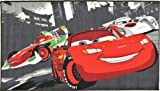 Bavaria Home Style Collection Children 's Deko-Teppich, Cars Lightning McQueen, Francesco Bernoulli, SHU Todoroki World Racing 80 x 140 cm