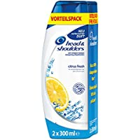 Head & Shoulders Citrus Fresh Champú Anticaspa Duopack (2x300ml), 6-pack (