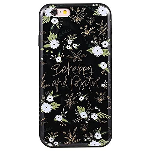 Ecoway Apple iPhone 6/6S(4.7 Zoll) IMD Case Cover, TPU Série