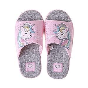 Coralup - Zapatillas de algodón