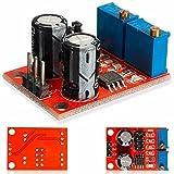 ILS - 20 piezas Ciclo de trabajo NE555 frecuencia de impulsos Módulo ajustable cuadrado de la señal de onda del generador del motor de pasos del conductor