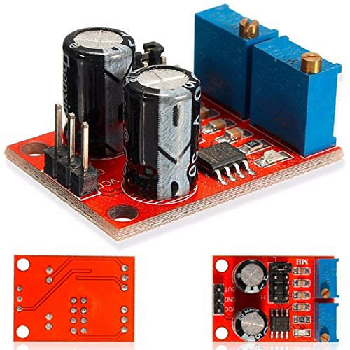 Bluelover 5pcs NE555 pulso frecuencia ciclo de deber módulo ajustable señal cuadrada de onda generador motor de pasos conductor (precio: 7,09€)