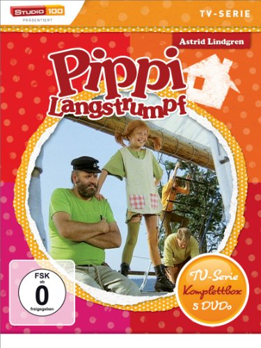 pi Langstrumpf - TV-Serie Komplettbox [5 DVDs] ()