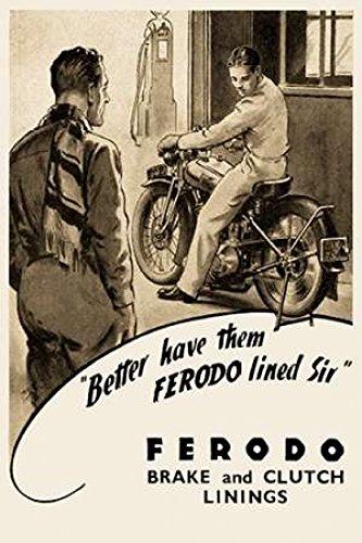 Motorcycle Brake Pads //Brake Pads frp410p Platinum Road Ferodo Bremsbel/äge frp410p Platinum Road Bremsbel/äge moto