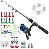 Best Fishing Rods And Reels - Kids Fishing Pole,Light and Portable Telescopic Fishing Rod Review