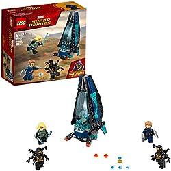 LEGO Super Heroes Avengers Set Costruzioni - l'Attacco della Dropship Degli Outrider, Multicolore, 76101