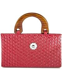 TBW Red Designer Stylish Ladies Purse Clutch For Women & Girls