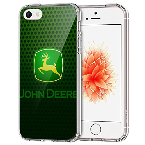 JKFO Hülle für iPhone SE und iPhone 5S und iPhone 5 Tasche Schutzhülle Case Cover Bumper und Anti-Scratch Löschen Back Hülle für iPhone SE/5S/5 (HD Klar KDAKDALGK00026)