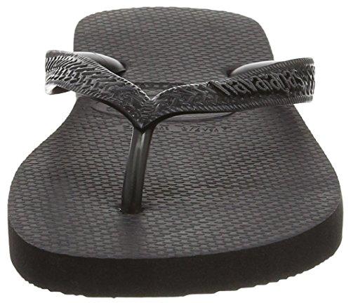 Havaianas Top, Unisex Adults' Flip Flops, Black (Black 0090), 13 UK (47/48 BR) (49/50 EU)