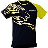 Donic T-shirt Lion, options d' M, noir / jaune