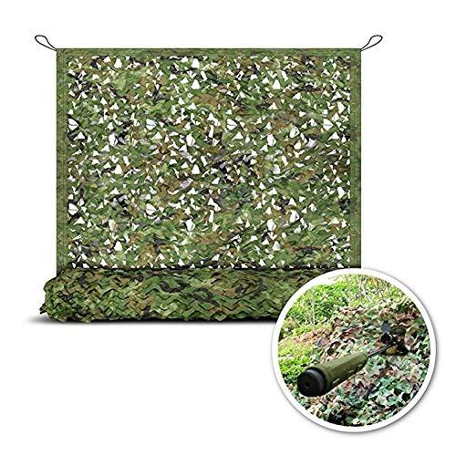 nnetz Camo Net Camouflage Net Tarnnetz, Sonnenschutznetz, Lightweight Durable , for Sonnenschutzdekoration Jagd Blind Shooting (Color : Green, Size : 4x6m) ()