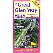 The Great Glen Way: Waterproof Map-Guide