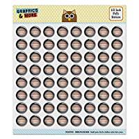 Planet Jupiter Solar System Puffy Bubble Dome Scrapbooking Crafting Sticker Set