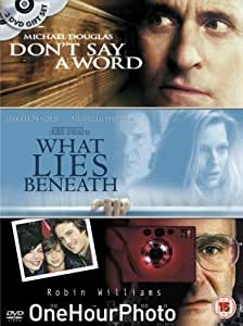 Don't Say A Word/One Hour Photo/What Lies Beneath [DVD]
