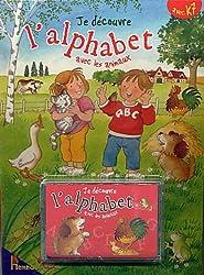 Je découvre l'alphabet avec les animaux (1Cassette audio)