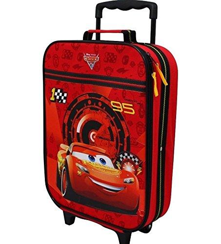 Disney Cars Koffer Trolley Kinderkoffer Reisekoffer Auto McQueen Handgepäck 8111 (Cars-koffer Disney)