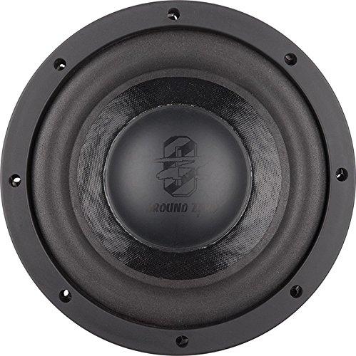 GROUND ZERO GZUW 8SQ Sound Qualität Subwoofer 20cm (Wettbewerb Lautsprecher)