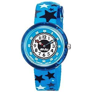 FlikFlak Jungen Analog Quarz Uhr mit Stoff Armband FBNP084