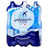 San Benedetto Acqua Frizzante - 6 Bottiglie da 1.5 Litri