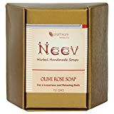 Neev Olive Rose Handmade Soap- For a Lux...
