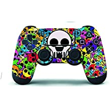 Elton 3M Skin for Sony PlayStation 4, PS4 Slim, Ps4 Pro DualShock Remote Wireless Controller - Multicolor, Skin for One Controller Only