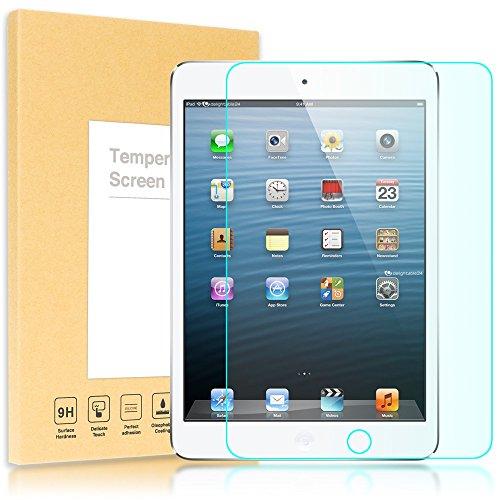 delightable24 Pellicola Protettiva Vetro Temprato Glass Screen Protector APPLE IPAD MINI / IPAD MINI 2 / IPAD MINI 3 Tablet - Transparente