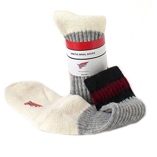 Red Wing Arktis Wolle Herren Socken UK8-11 EU42-46 US9-12 Multicolor - Lace-up-socken