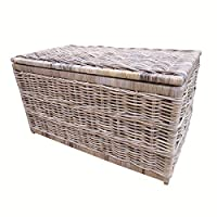 Bliss and Bloom Storage Chest Trunk Wicker Rattan (Small)