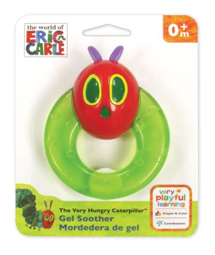The Very Hungry Caterpillar Gel Soother, By Rainbow Designs