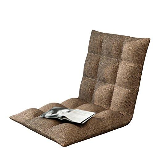 Pliable Simple Petit Canapé Paresseux Canapé Lit Dossier Chaise Balcon Pliant Coussin Canapé Chaise 50 * 50cm (Couleur : A)