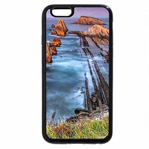 iPhone 6S / iPhone 6 Case (Black) La Arnia Coastline Spain