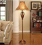 Global- European Style Stehlampe Wohnzimmer Schlafzimmer Retro Art Study Kreative Vertikal Lampe Luxus Stehlampe