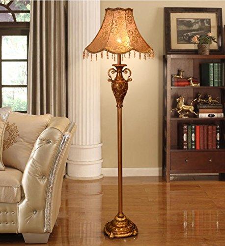 Global- European Style Stehlampe Wohnzimmer Schlafzimmer Retro Art Study Kreative Vertikal Lampe Luxus Stehlampe -