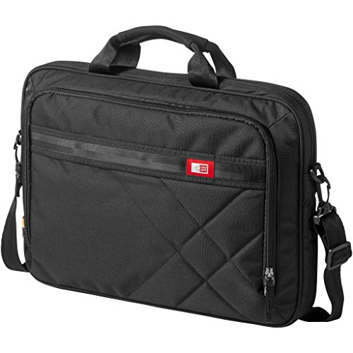 Case Aktentasche Logic für 17-Zoll-Laptops und Tablets (45 x 7,5 x 33 cm) (Schwarz)