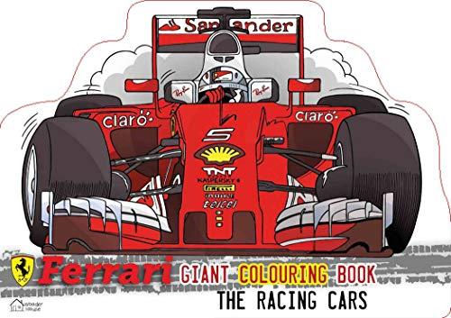 Ferrari Giant Colouring Book For Kids