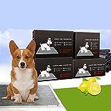 WSN Disposable dog package Paquet Chien Jetable, Solution Simple Super Absorbant Soin du Ventre Ventre Anti-Fuite Latérale Super Absorbant Ajustable S-XL,L...