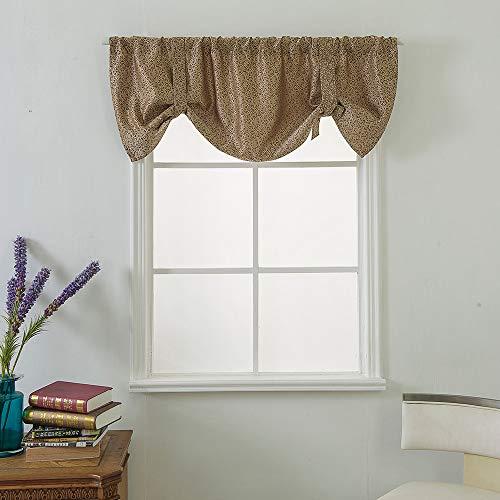 Gaddrt® 1pannello tenda mantovana a finestra, extra largo e corto trattamento finestra cucina soggiorno bagno tessuto f