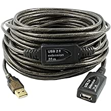 Alfa Networks AUSBD-20M - Cable extensor USB activo 20 m