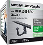 Rameder Attelage rotule démontable pour Mercedes-Benz Classe B + Faisceau 13 Broches...