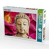 Lieblicher Buddha 1000 Teile Puzzle quer