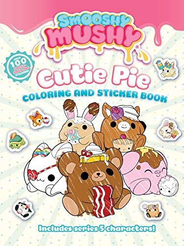 Smooshy Mushy: Cutie Pie: Coloring and Sticker Book Punkin Pie